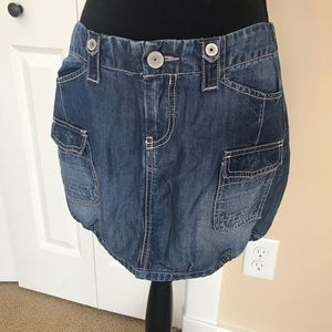 Forever 21 blue jean skirt in Small NWT